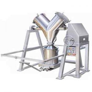 V blender is one of the commonly used blenders in the pharmaceutical, and food industry.